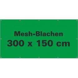 Mesh-Werbeblache 300x150cm