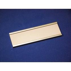 Profil-Schild Modell 1520 Länge 125mm aus Aluminium