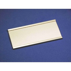 Profil-Schild Modell 1530 Länge 125mm aus Aluminium