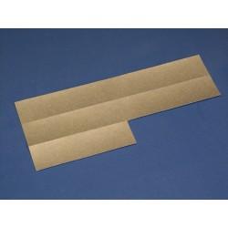 Papier-Einlage zu Modell A34 / A40 silber  -  20 Blatt A4