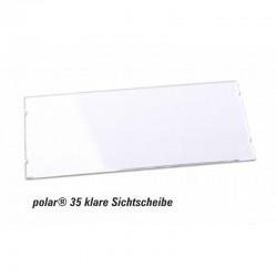 Sichtscheibe polar® 35 - 74x34mm Ersatzkomponente glasklar im 10er Pack